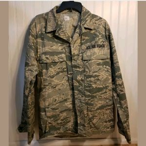 US Air Force Military Camouflage ABU Jacket 40L